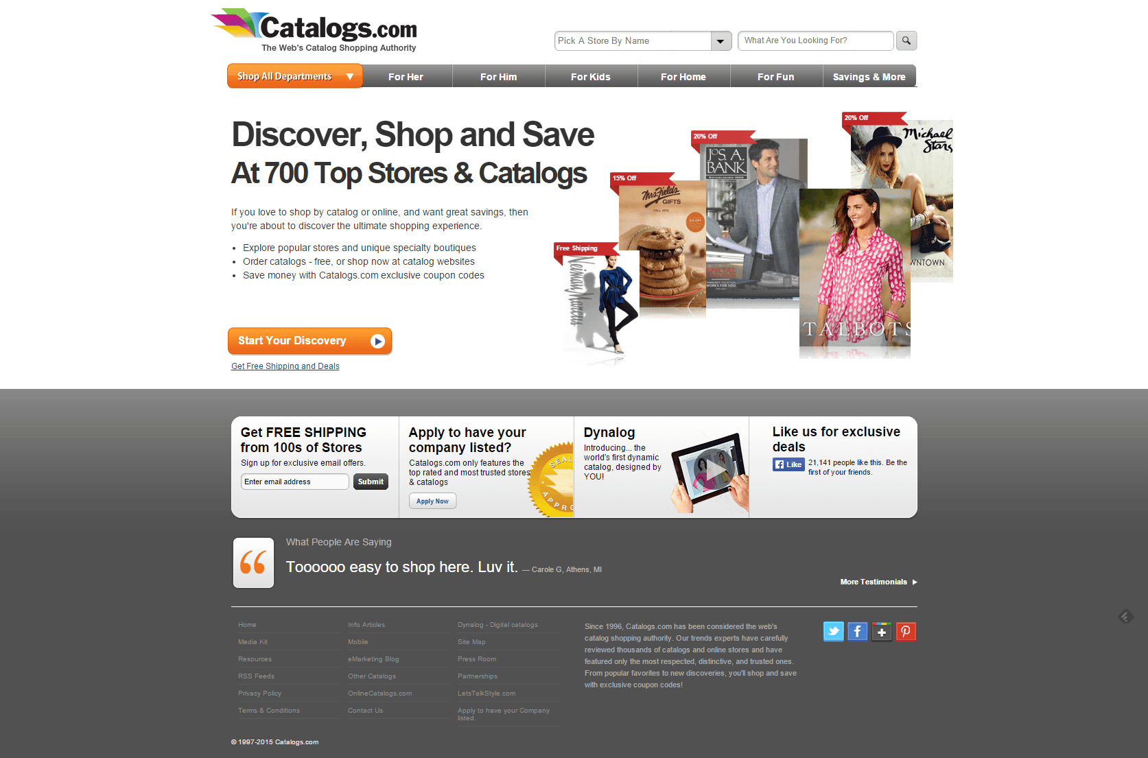 Catalogs.com   Order Catalogs from around the world for Free