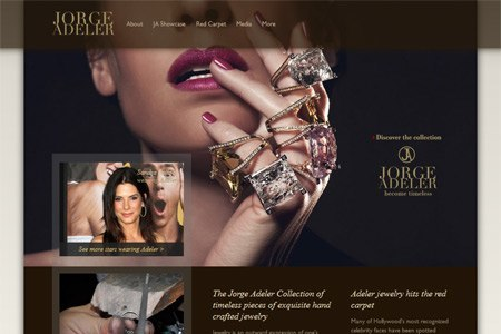 brand messaging and seo for adelerjewelers.com